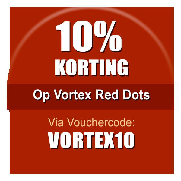 Actie Vortex Red Dots Nu met 10% korting!