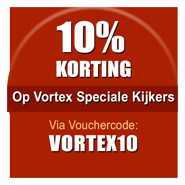Actie Vortex Speciale kijkers Nu met 10% korting!