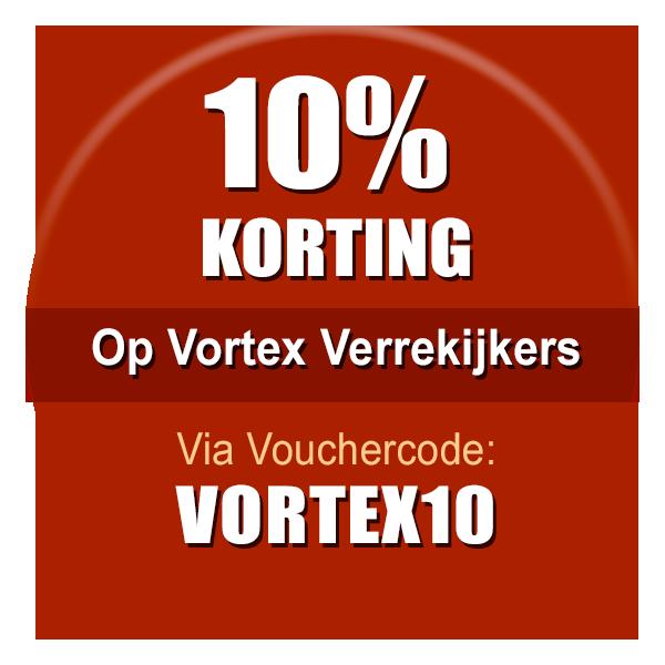 Pak nu 10% korting op Vortex speciale kijkers via Vouchercode: VORTEX10%